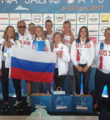 Three col teamrussia laser gdynia